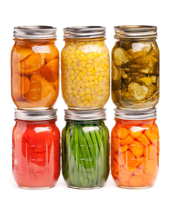 Gemüse|Obst Konserviert