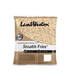 Pommes Frites 6x6mm 4x2,5Kg m/Schale LAMB WESTON