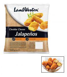 Jalapeno M/Cheddar Gefüllt 28/32Stk 1Kg LAMB WESTON