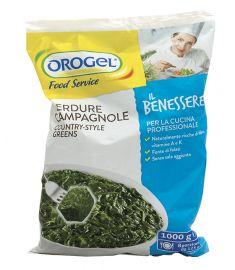 Blattgemüse Spinat/Chicoree/Mangold 1Kg OROGEL