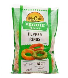Frittierte Paprikaringe 1Kg MCCAIN
