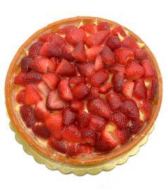 Mürbteigkuchen mit Erdbeern 1,5Kg MORALBERTI