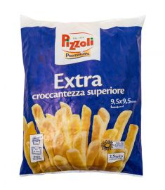 Kartoffel Pommes Extra 9,5x9,5 2,5Kg PIZZOLI