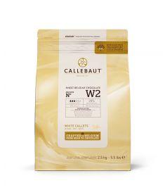 Kuvertüre weiße Schokolade 34-36 2,5Kg CALLETS
