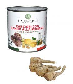 Artischockenstiele 2,5Kg alla Romana in Sonnenblumenöl