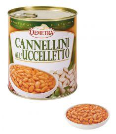 Cannellini-Bohnen all'Uccelletto 6x880g DEMETRA