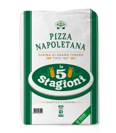 Mehl 00 Pizza Napoletana Grün 10Kg 5 STAGIONI