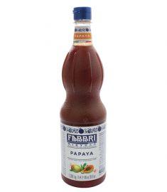 Papaya Sirup 1L FABBRI