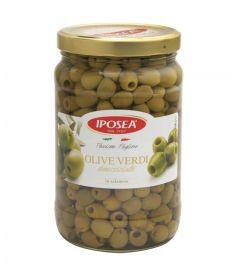 Grüne Oliven entkernt 1,6Kg IPOSEA