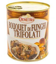 """Gemischte Pilze gedünstet """"Bouquet"""" 800g DEMETRA"""