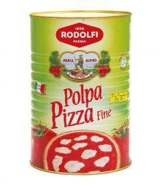 Fein gehackte Tomaten Pizza 3x5Kg RODOLFI