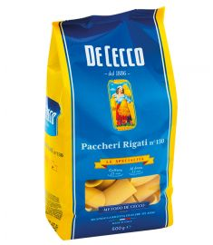 Paccheri Rigati 500g n°135 DE CECCO