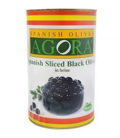 Schwarze Olivenscheiben 3,8Kg AGORA'