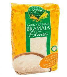 Maismehl 10x1Kg für Polenta Weiß FAVERO