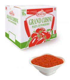 Gehackte Tomaten Grand Cuisine 10Kg DEMETRA