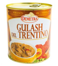Gulasch del Trentino 850g DEMETRA
