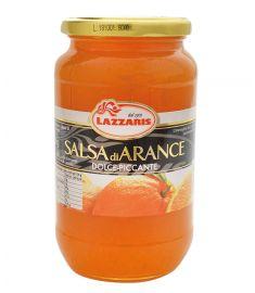 Orangensenfsoße 750g LAZZARIS
