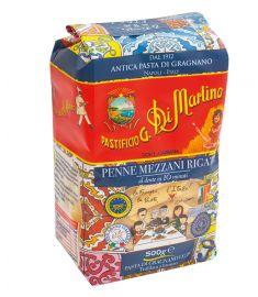 Penne Mezzani Rigate  N°142 500g DI MARTINO