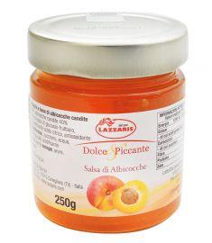 Aprikosensenfsoße 250g LAZZARIS