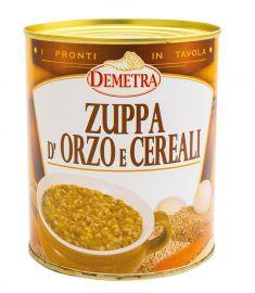 Suppe mit Gerste und Getreide 880g DEMETRA