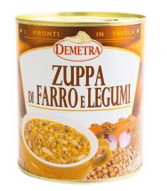 Suppe Dinkel/Hülsenfrüchten 900g DEMETRA