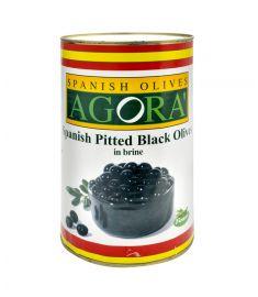 Schwarze Oliven entkernt 4,3Kg AGORA'