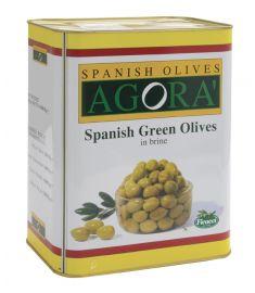 Grüne Oliven entkernt 28/32 8Kg AGORA