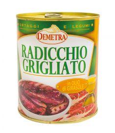 Gegrillter Radicchio in Sonnenblumenöl 740g DEMETRA