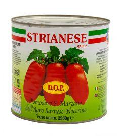 Geschälte Tomaten 6x3Kg ganz  San Marzano STRIANESE