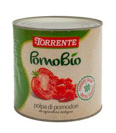 Bio Gehackte Tomaten 6x3Kg 100% Italien LA TORRENTE