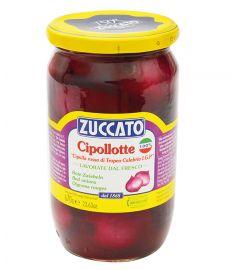 Zwiebeln rot 670g süß-sauer eingelegt ZUCCATO