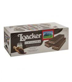 Waffelschnitten Kakao/Milch 25x45g LOACKER