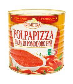 Fein gehackte Tomaten 6x3Kg DEMETRA