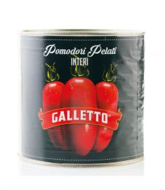 Geschälte Tomaten ganz 6x3Kg GALLETTO