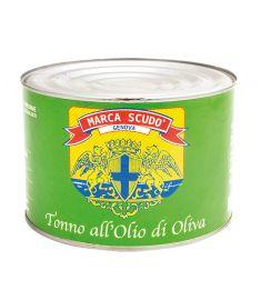 Thunfisch in Olivenöl 1,73Kg SCUDO
