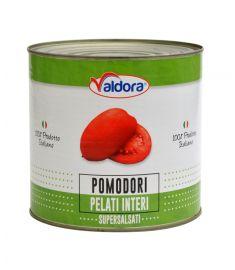 Geschälte Tomaten 6x3Kg VALDORA