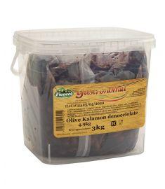 Schwarze Oliven entkernt 4,9Kg Kalamon FICACCI