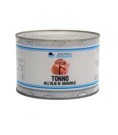 Thunfisch in Sonnenblumenöl / Tonno o. Girasole 1,73Kg SKIPJACK