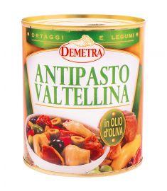 Vorspeiße Valtellina in Olivenöl 800g DEMETRA