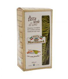 Grüne Fettucine-Eierteig 10x500g MONTEGRAPPA