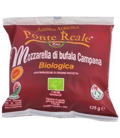 Bio Büffelmozzarella 8x125g Campana DOP  PONTE REALE