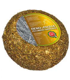 Pecorino Fieno e Paglia affinato Schafskäse (60/90Tage) 1,2Kg CASEIFICIO MAREMMA