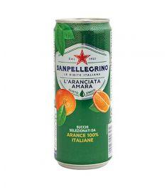 Orangen Limonade Bitter 0,33L SANPELLEGRINO