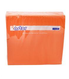 Servietten 2-lagig 33x33cm 27x50Stk Orange ASTOR