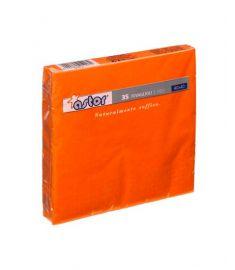 Servietten 2-lagig 40x40cm 30x35Stk Orange ASTOR