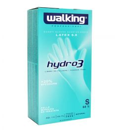 Einweghandschuhe o/Puder Hydro 3 Gr. S 100Stk WALKING