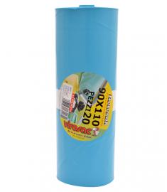 Müllsack hellblau 90x110 VIROSAC