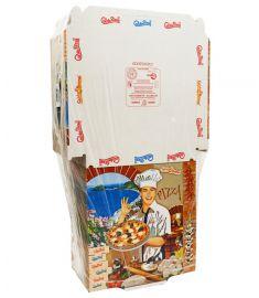 Pizzakarton 32,5x32,5x3cm Tricomia LINER