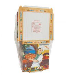 Pizzakarton Vesuvio 26,5x26,5cm 150Stk LINER