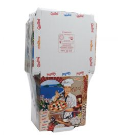 Pizzakarton 29,5x29,5x3cm Tricomia LINER